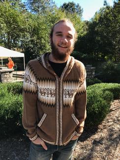 Photo of 100% Alpaca Hoodie Sweater (URQU)