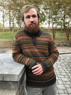 Photo of Men's Evergreen Alpaca Sweater