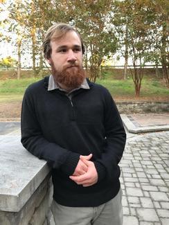 Photo of Men's Half Zip Alpaca Sweater (2XL)