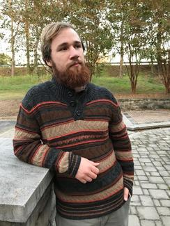 Photo of Bonfire Blaze Alpaca Sweater