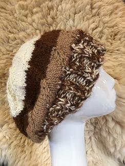 Photo of  Handmade~Alpaca Spiral hat