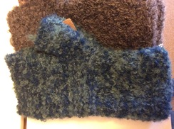 Photo of Fingerless Boucle Glove