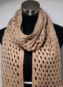 Photo of Diamond cut scarf
