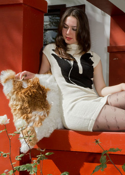 Photo of Alpaca Fur Pillow