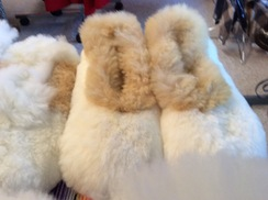 Photo of Alpaca Fur Slippers