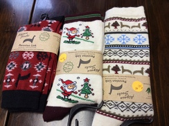 Photo of Alpaca Holiday Socks