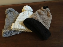 Photo of Home knit hats