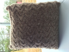 Photo of Knitted Pillow