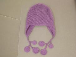 Photo of Violet Alpaca Hat