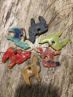 Photo of Alpaca Ceramic Ornament