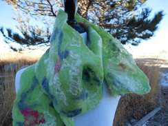 Photo of Nuno Felted Scarf