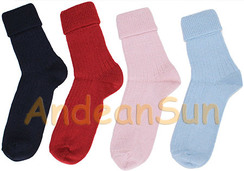 Photo of Women's Ribbed Crew Alpaca Socks