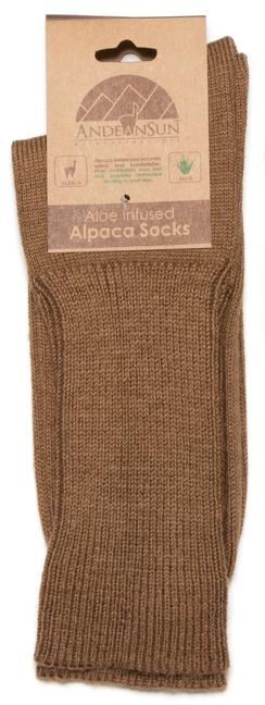 Photo of Men's Dress Alpaca Socks - Ribbed Crew