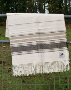 Photo of Alpaca Blanket USA made with USA fiber