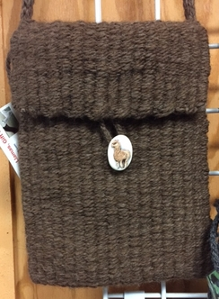 Photo of Brown Alpaca Purse