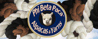 Phi Beta Paca™: Alpacas & Yarns - Logo