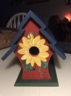 Photo of Sunflower birdhouse