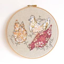 Photo of Embroidery Hoop Art~ June 24