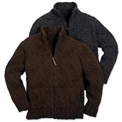 Photo of Alpaca Mens zip jacket