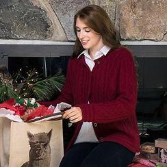 Photo of Baby Alpaca Cardigan Sweater