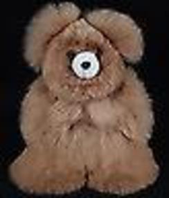 Photo of Medium Alpaca Fur Teddy Bear