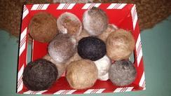 Photo of 100% Alpaca dryer balls [set of 3]