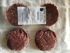 Photo of Ground Yak 1/4 lb Patties 2 pack