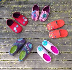 Photo of Felted Slippers Workshop