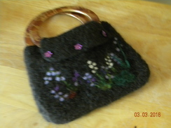 Photo of Felted Alpaca Handbag