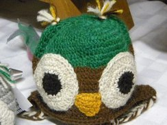 Photo of Owl Chullo Hat