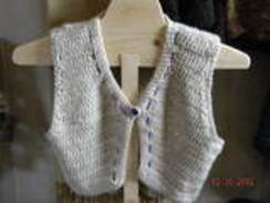 Photo of Alpaca Hand Crocheted Bolero