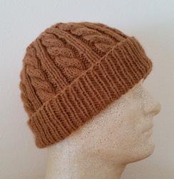Photo of Men's Alpaca Toboggan/Watchman Hat