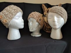 Photo of DELIGHTFUL BROWN HEADBAND SERIES