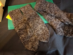 Photo of HAND KNITTED MITTENS