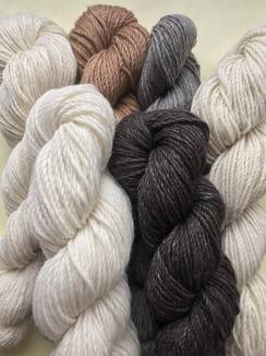 Photo of Natural Undyed Alpaca Yarn