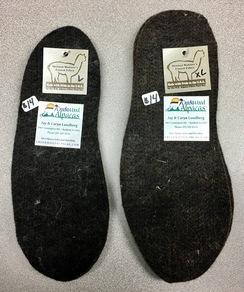 Photo of Alpaca Shoe/Boot Insoles