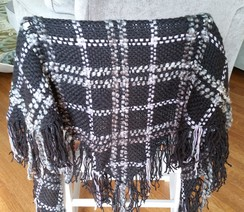 Photo of Open Weave Alpace Shawl