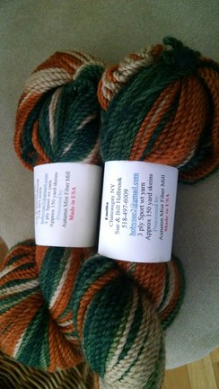 Photo of Dip Dyed Yarn