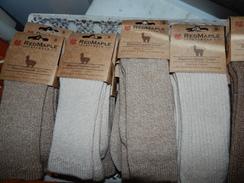 Photo of Red Maple Alpaca Copper Crew Socks