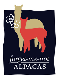 Forget-Me-Not Alpacas - Logo