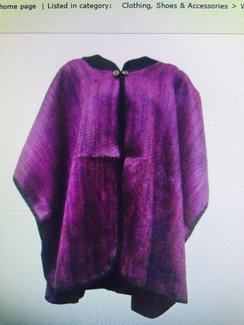 Photo of Alpaca 2 Button Cape