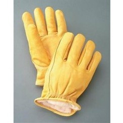 Photo of Alpaca Filled Cowhide Leather Gloves