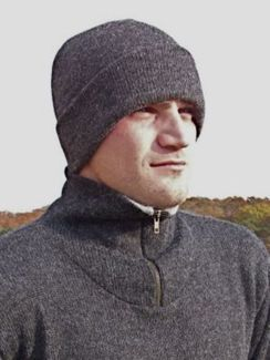 Photo of 100% Alpaca Classic Rimmed Cap