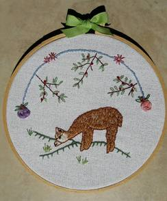 Photo of Embroidery Hoop Art~ 6.24.17