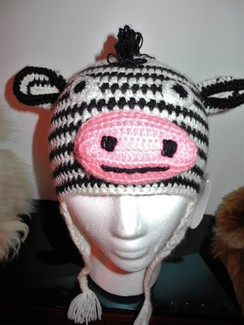 Photo of Alpaca Zebra hat