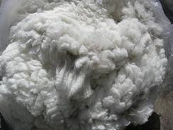 Photo of Raw blanket fleece-white