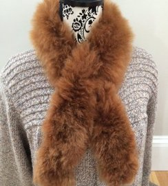 Photo of 100% Baby Alpaca Fur Scarf