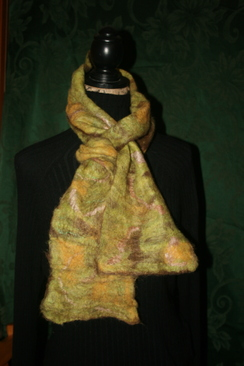 Photo of Hand Felted Alpaca Scarves - SOLD
