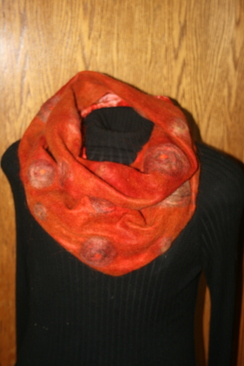 Photo of Felted Scarves - Sold