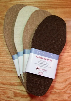 Photo of INSOLES: Foot Comfort in ALPACA!
